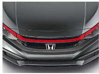 Honda Civic Grille Accent  Rally Red - 08F21-TBA-180A
