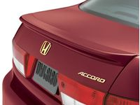 Honda Accord Rear Decklid Spoiler (Noble Green Pearl-Exterior) - 08F10-SDA-160