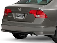 Honda Rear Under Spoiler (Tango Red Pearl-Exterior) - 08F03-SNA-1A0