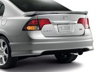 Honda Civic Rear Under Spoiler (Dyno Blue Pearl-Exterior) - 08F03-SNX-1T0