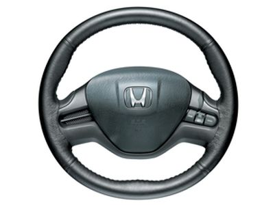 Honda Accessories 08U98-SVA-101 Leather Steering Wheel Cover