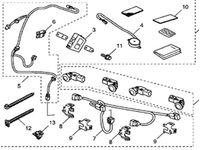 Genuine Honda 08V67-SZA-1E030 Back-Up Sensor Harness