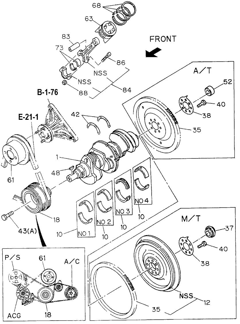 8-97162-198-0 - Genuine Honda Ring Set, Piston Std