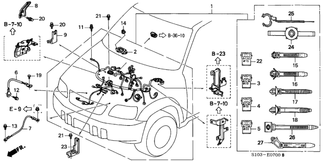 2004 Honda Cr V Ex Engine Diagram   Wiring Diagrams Quality calm   Sparks 2003 Cr V Engine Diagram      wiring diagram library