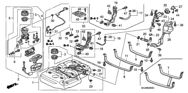 Genuine Honda Kit Fuel Strainer 06177-SHJ-305