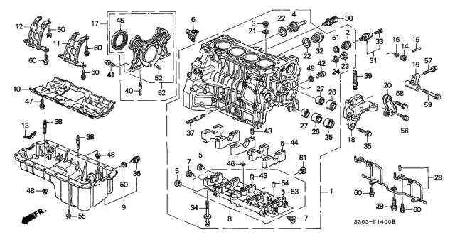 DICHTUNG AUSPUFF VERBINDUNG S410210012067 Honda NSS 300 NF04A Bj 2013-2015