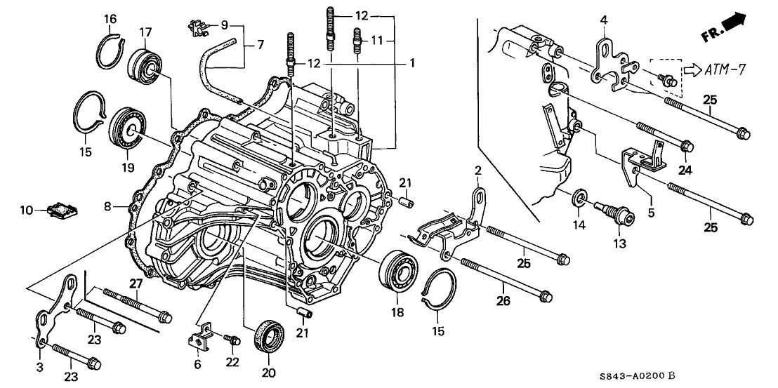 Amazing 21210 Pax 000 Genuine Honda Case Transmission Wiring Digital Resources Cettecompassionincorg