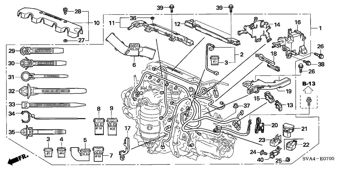 honda 32111 rna a00 2006 Honda Civic Ignition Relay
