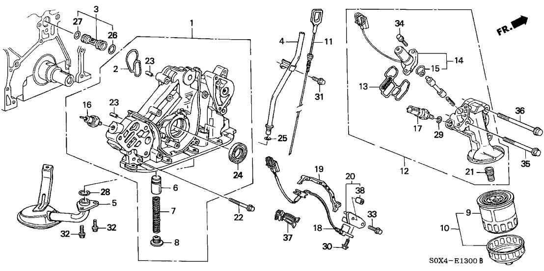 Honda 37250-PR3-003