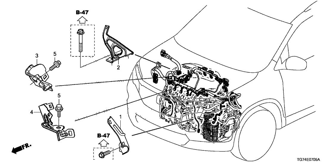 Honda Pilot Wiring Harnes Diagram