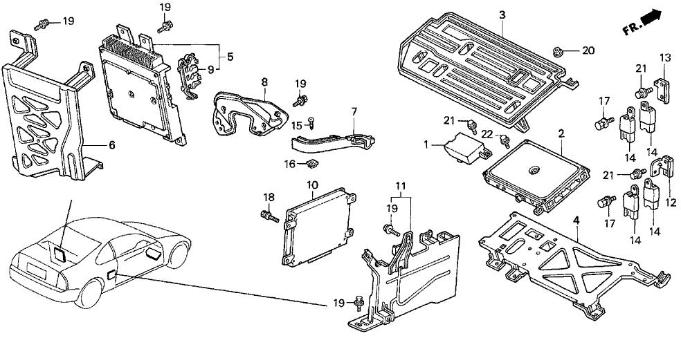 94 Honda Prelude Engine Diagram