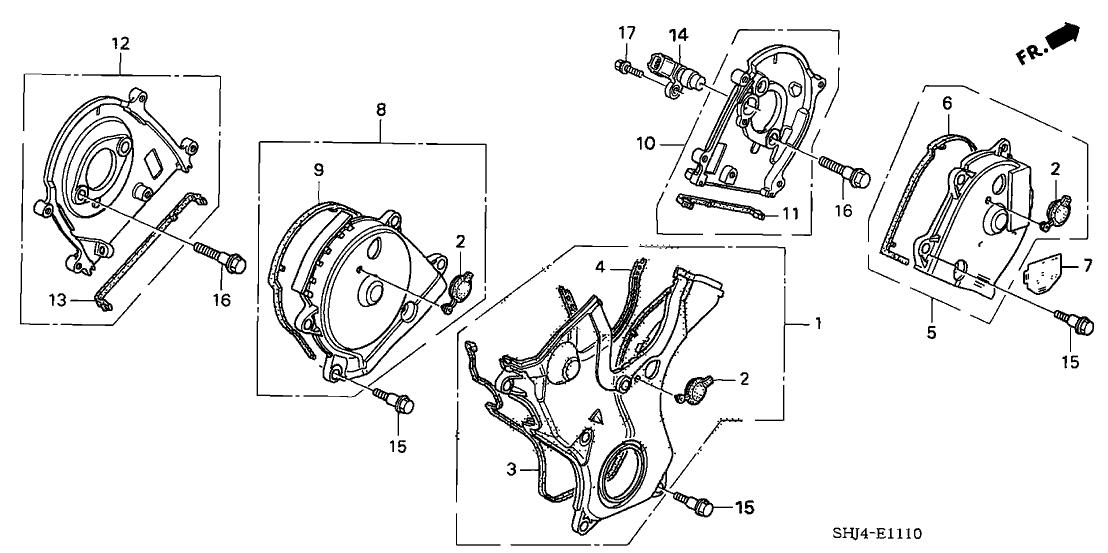 07 Honda Odyssey Belt Diagram