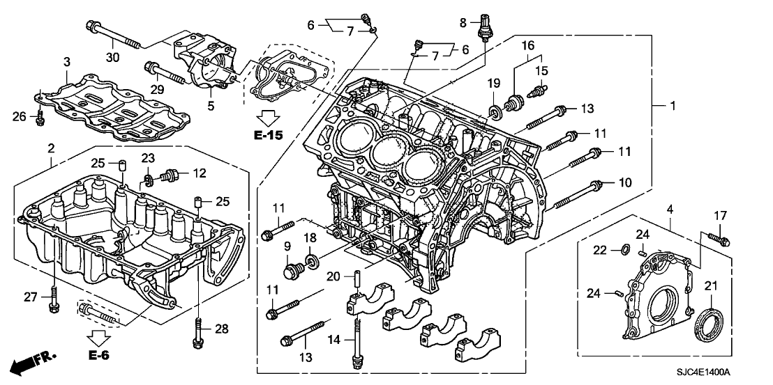 2006 Honda Ridgeline Engine Diagram