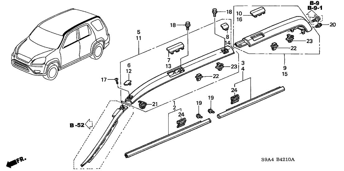 2005 Honda Crv Parts Diagram