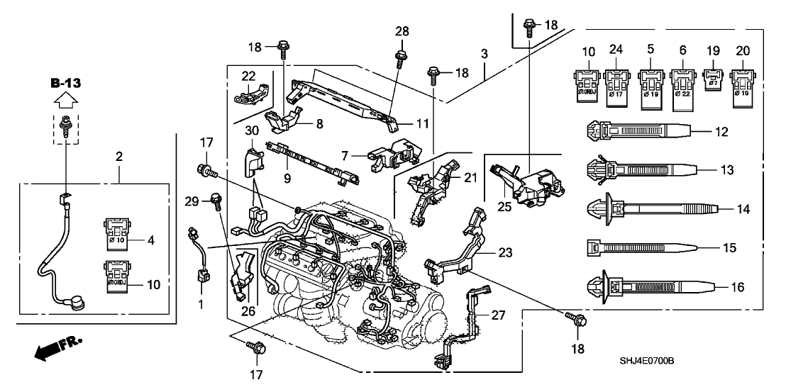 2005 Honda Odyssey Engine Diagram Wiring Diagram Module B Module B Emilia Fise It