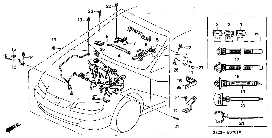 1999 Honda Accord Engine Parts Diagramdeugetweak