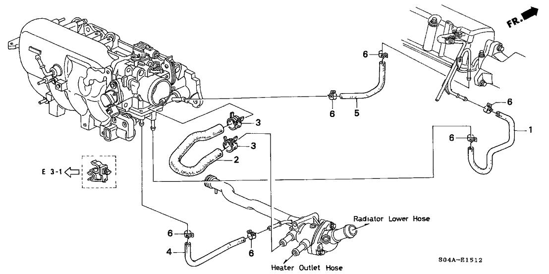 98 Honda Civic Engine Diagram