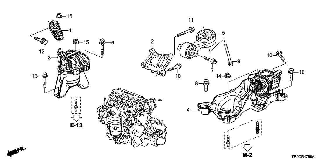 honda 50820 tr0 a02 2013 Honda Insight Engine Diagram honda si engine diagram wiring