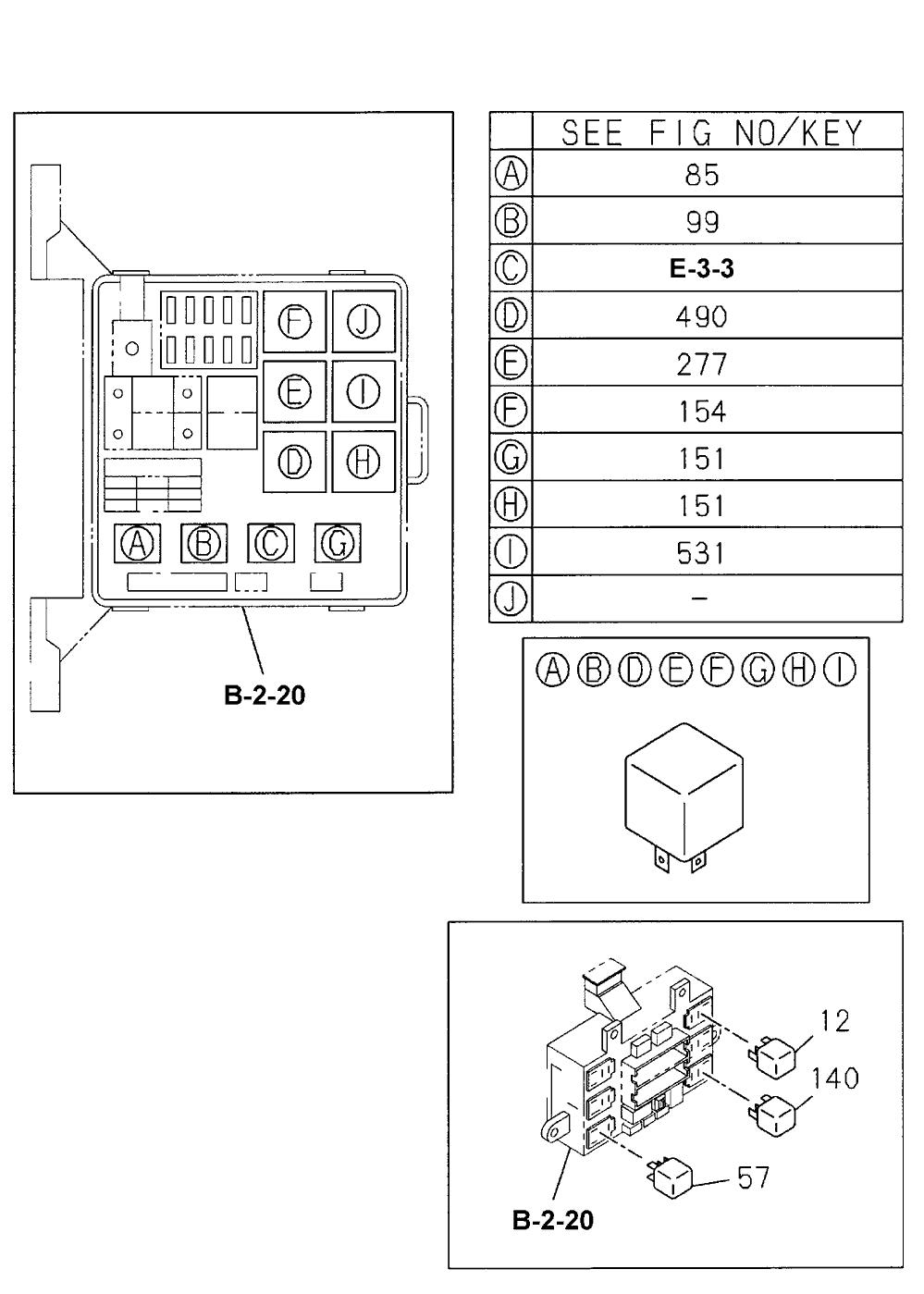 1999 honda passport 4 door 4ex kl 4at fuse box relay (engine) 2011 honda civic fuse box diagram 1999 honda passport fuse box diagram #1