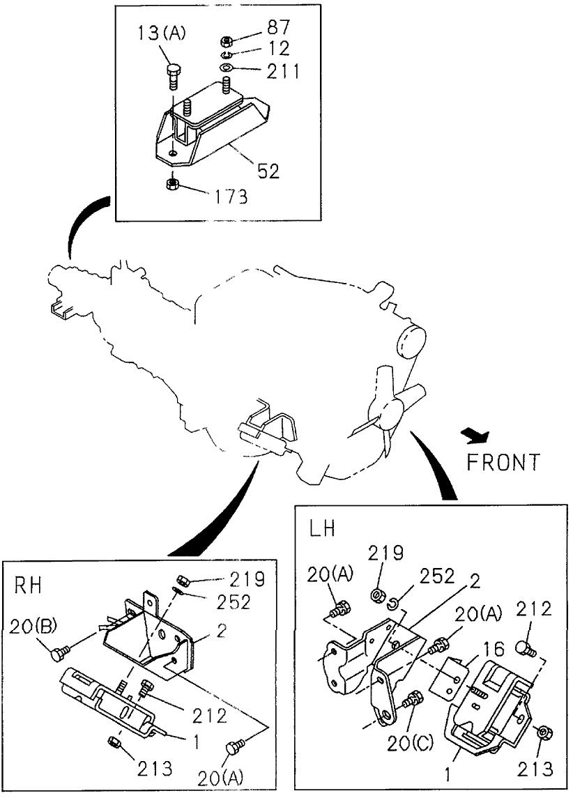 1994 Honda Passport Engine Diagram - Wiring Diagram Schema