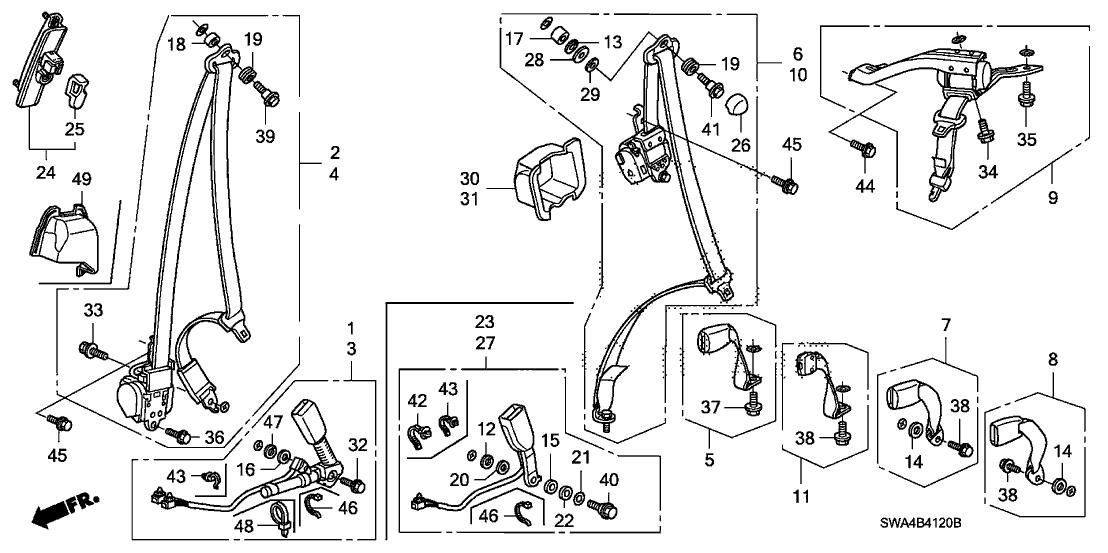 2010 Honda Crv Belt Diagram