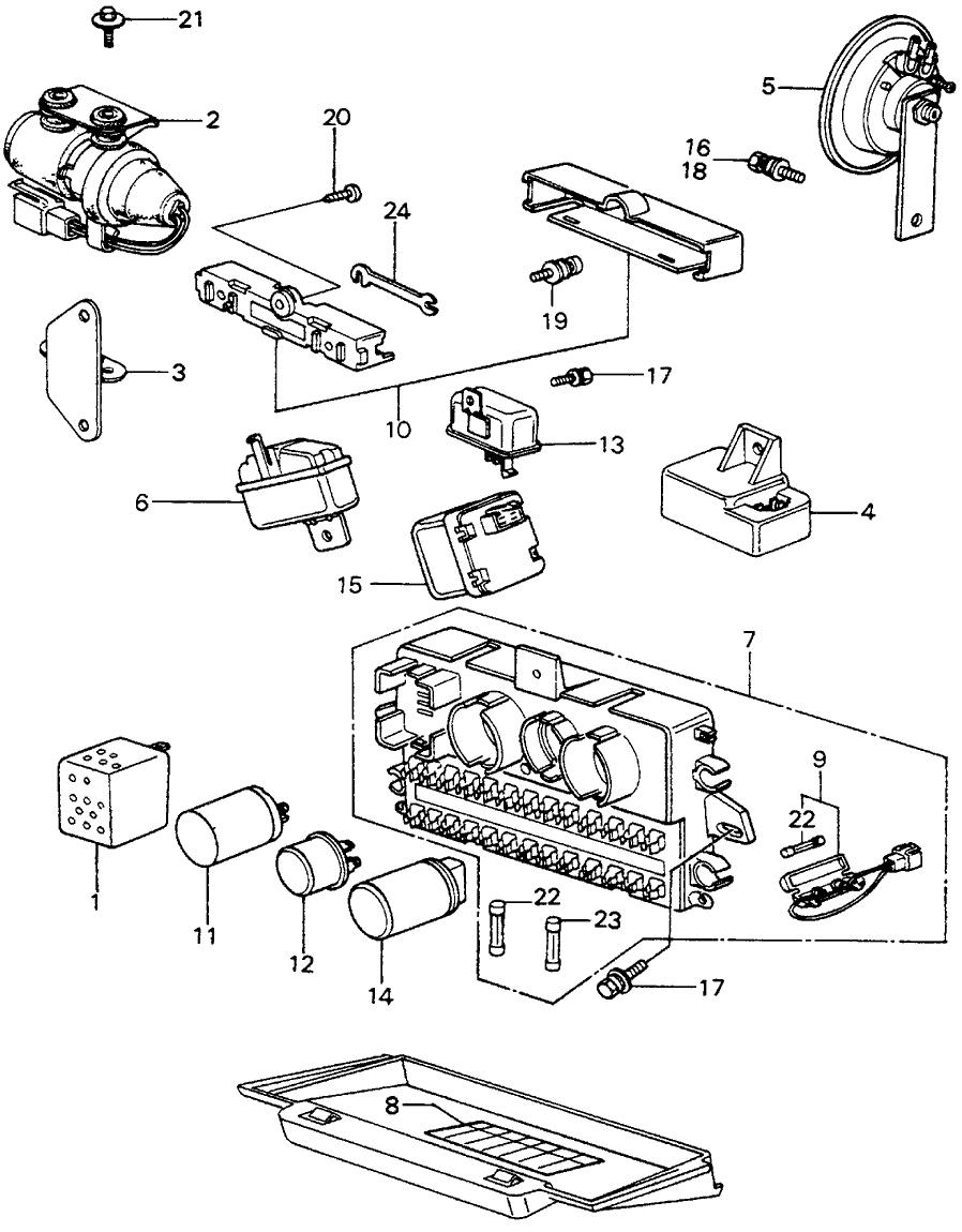 1981 Honda Civic 3 Door ** (1500) KA HMT Fuse Box - Relay - Horn on the last of us box, four box, layout for hexagonal box, style box, tube box, clip box, generator box, breaker box, cover box, circuit box, watch dogs box, transformer box, junction box, power box, ground box, dark box, case box, switch box, meter box, relay box,