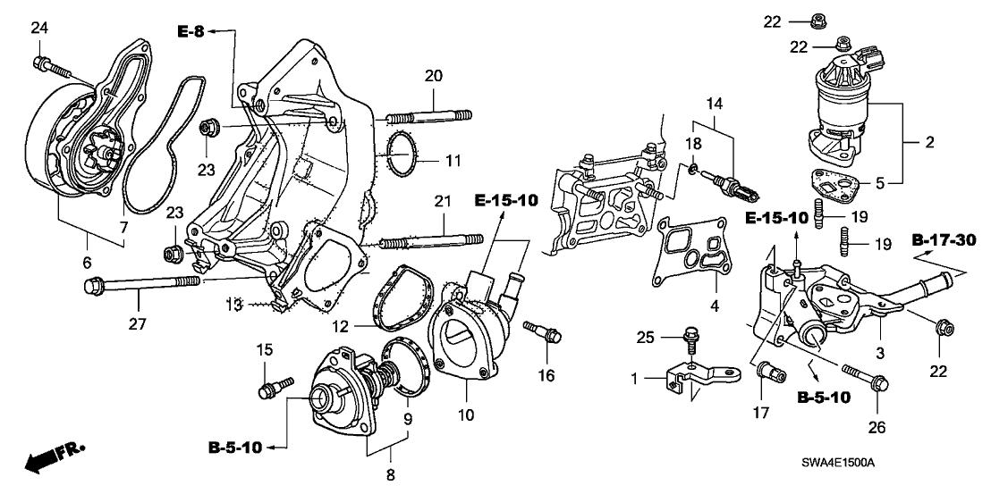2007 Honda Cr V Engine Diagram