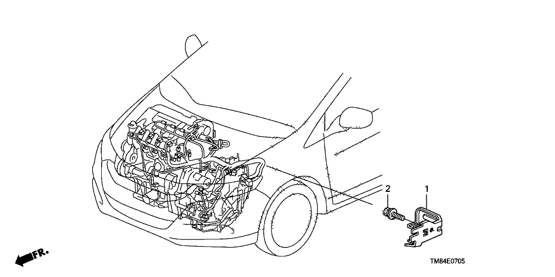 2013 honda insight 5 door ex ka cvt engine wire harness stay 2013 Honda Insight Engine Diagram warranty extension 2012–13 insight oil