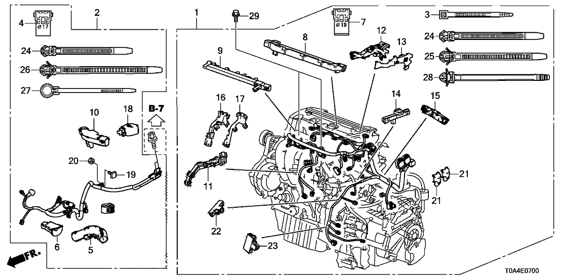 2014 Honda Cr V Wiring Diagram. 32111 r5a a00 genuine