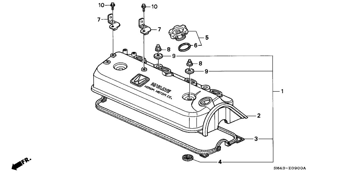 92 Honda Accord Engine Diagram