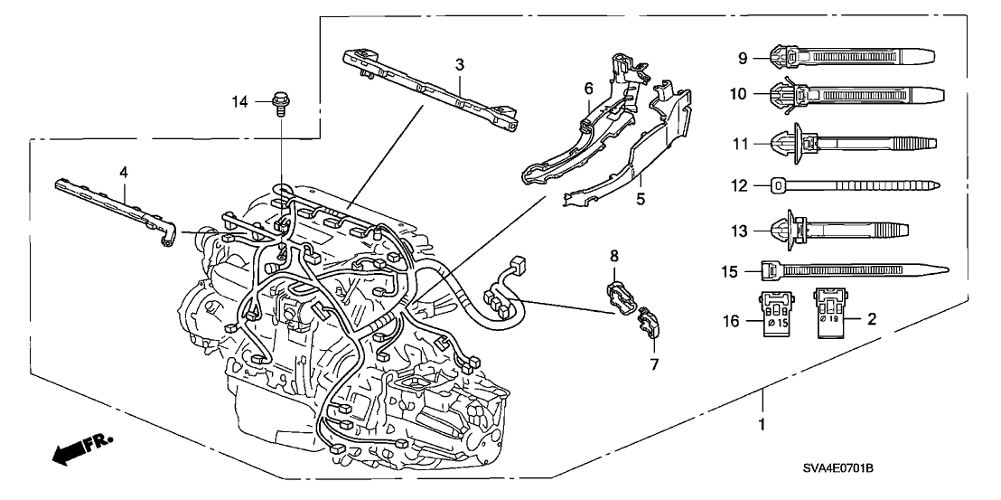Circuit Electric For Guide: 2007 civic si wiring diagram