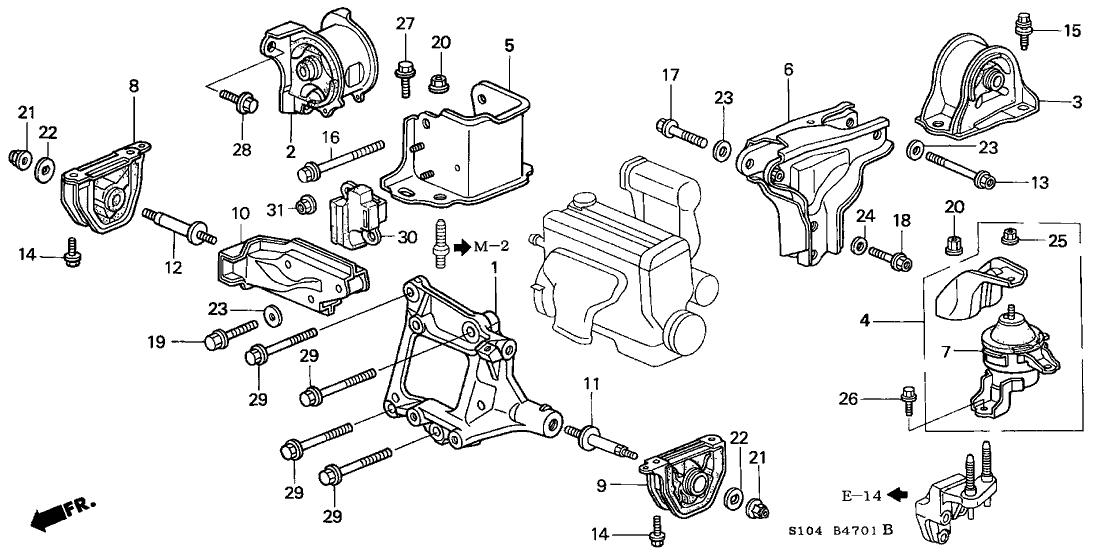 50810-ST7-000 - Genuine Honda Parts