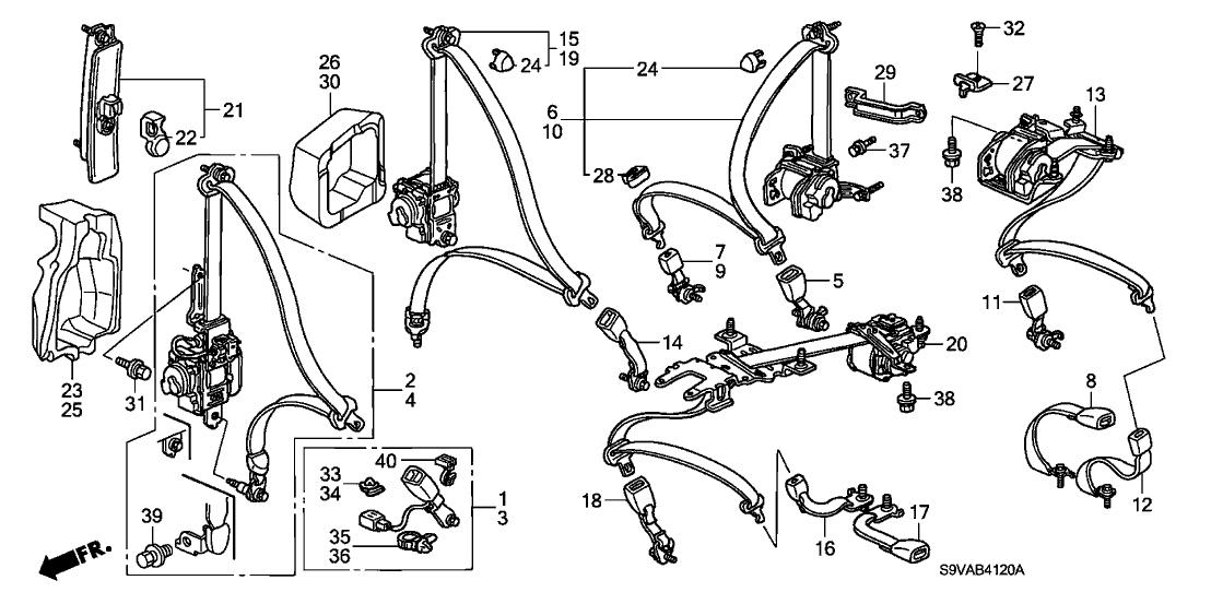Honda 82495-S9V-A00