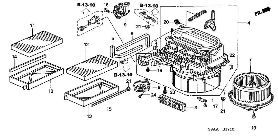 2006 Honda Cr V Engine Diagram - Wiring Diagrams