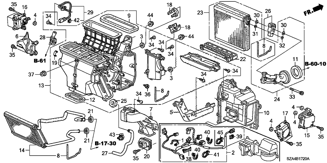 Wiring Diagram: 30 Honda Pilot Parts Diagram