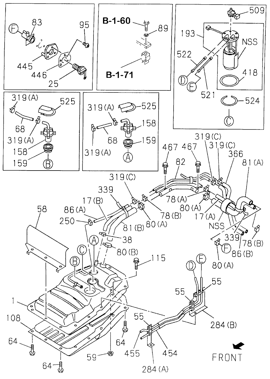 Honda Civic Door Parts Diagram On 2001 Honda Accord Door Lock Diagram