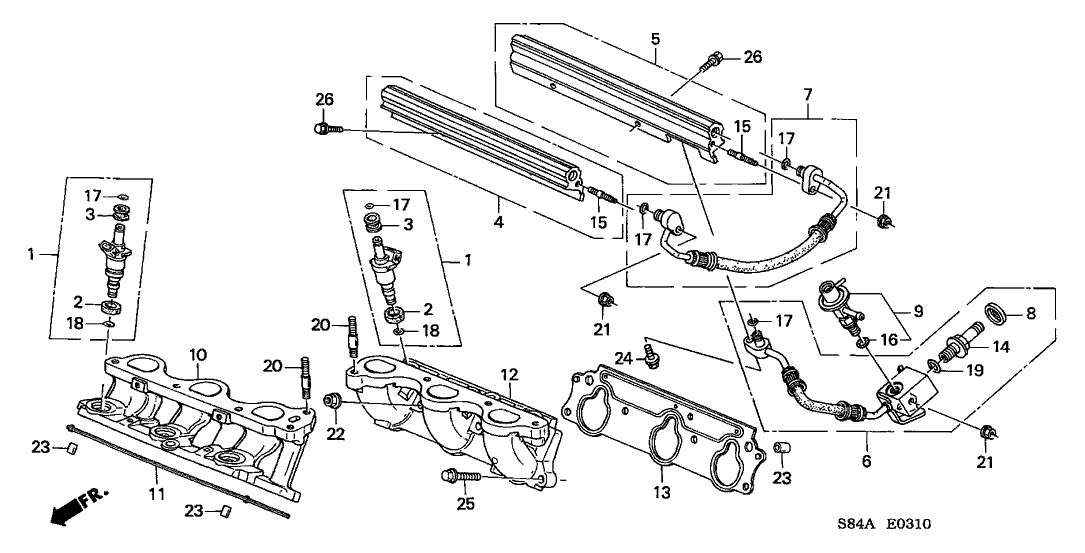Wiring Diagram PDF: 2002 Honda Accord Ex Engine Diagram