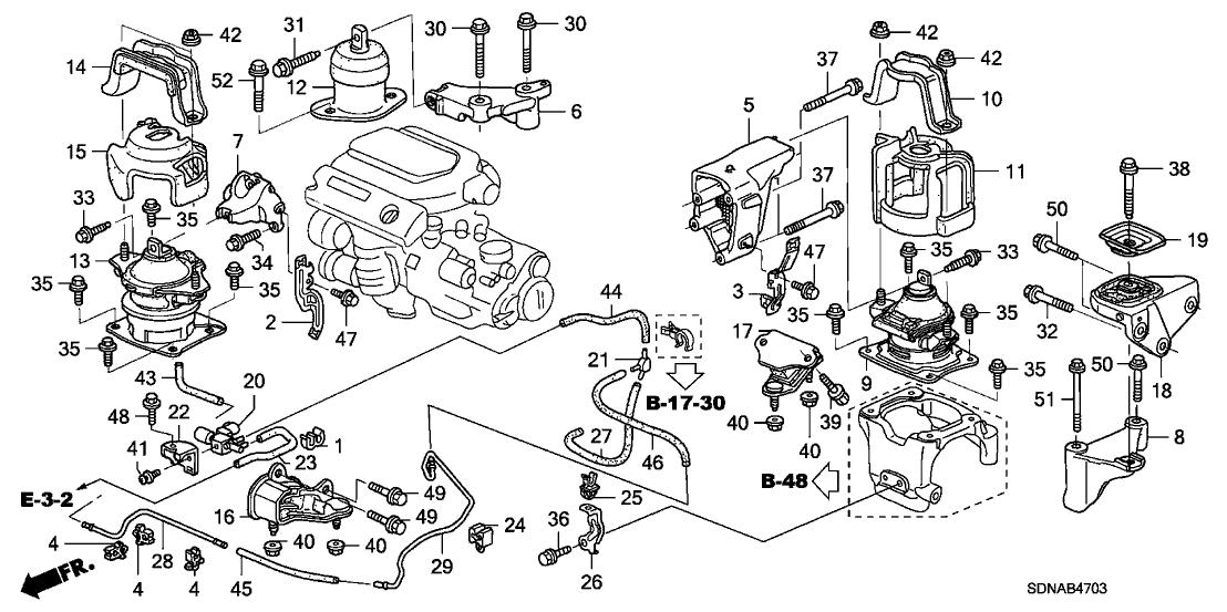 50919-S87-A81 - Genuine Honda Joint (3.5) (Three-Way)Honda Parts Now