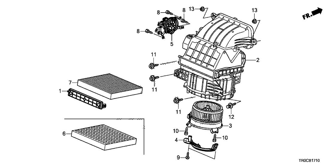 Honda Civic Cvt Transmission Diagram