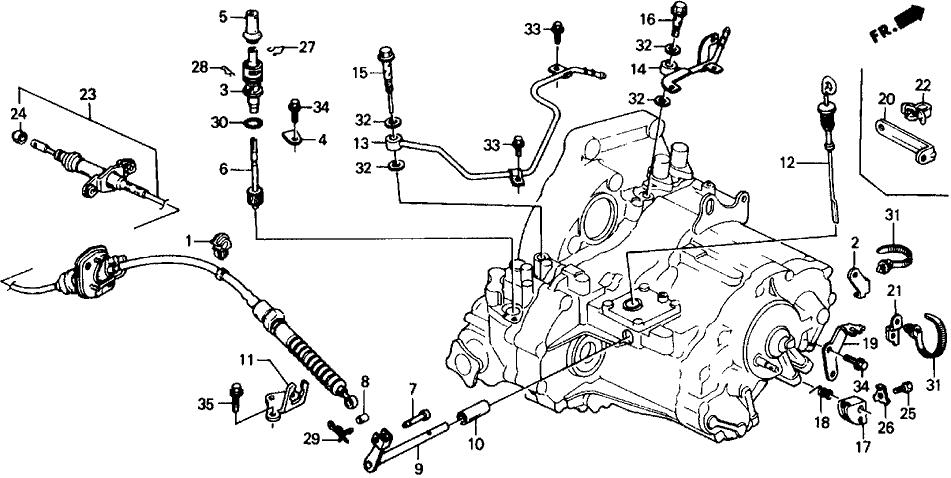 Honda 23811-PC1-000