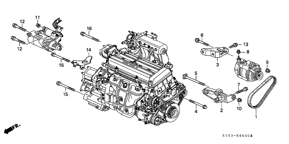 1998 Honda Cr V Engine Diagram Wiring Diagrams Img Spare Spare Farmaciastorelli It