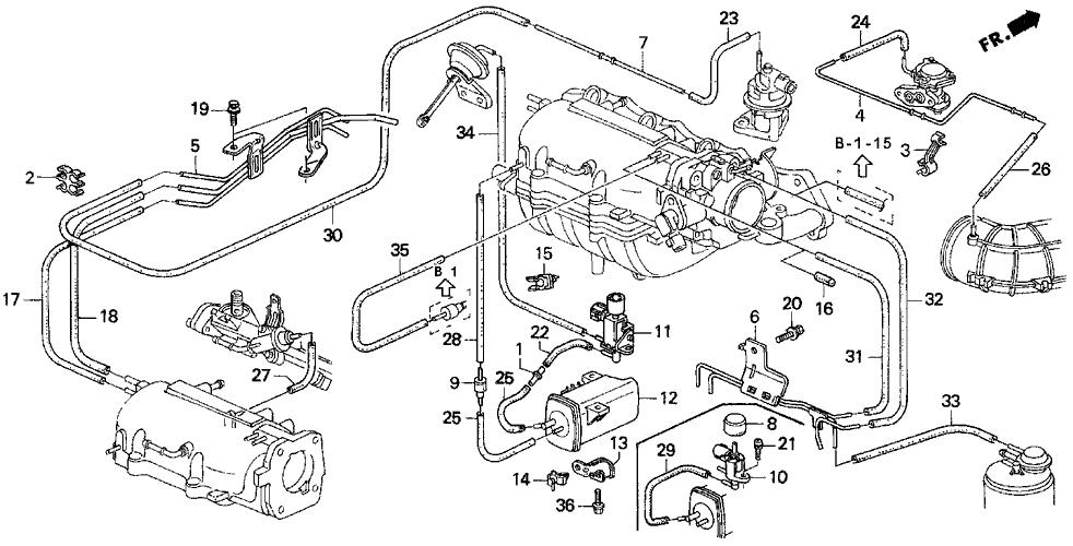 94 Honda Prelude Engine Diagram - Wiring Diagram Networks