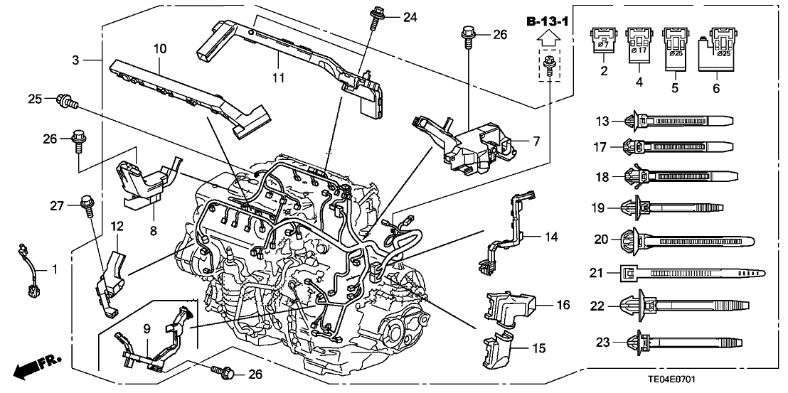 32110-R72-A01 - Genuine Honda Wire Harness, Engine on bronco engine harness, shorted engine harness, engine wire connectors, engine swap wiring harness, engine wire kit, engine wiring harness diagram, engine wiring harness replacement, 6 0 liter engine harness, engine wire brush, engine harness pin, engine manifold, engine suspension, 89 civic lx engine harness, engine muffler, engine wire frame, engine fan, b18 swap harness, 86 ford f-150 engine harness, engine wire tuck,