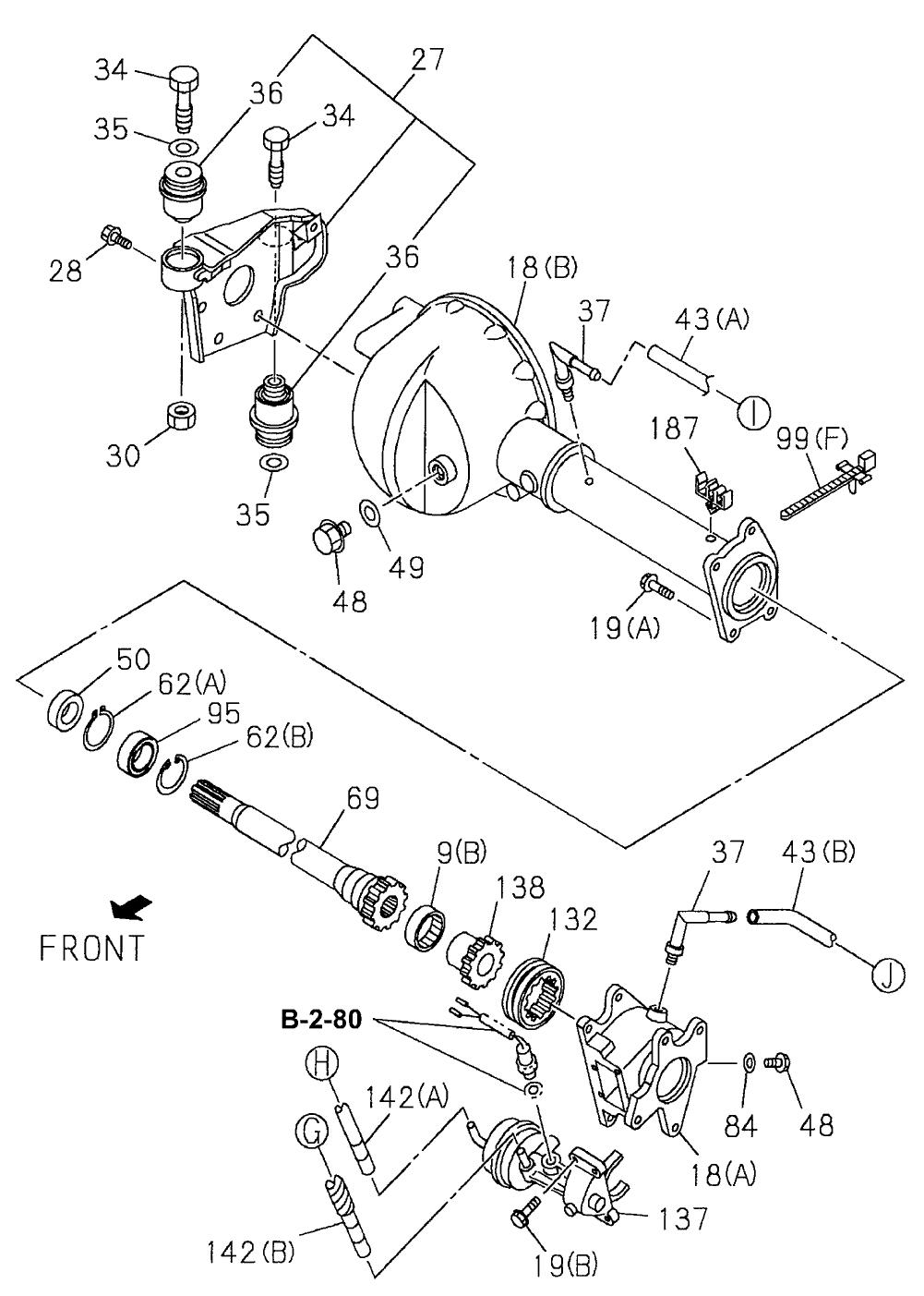 Case, FR  Axle (Gear Ratio 41/10)