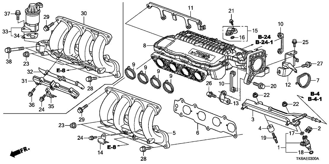 Honda Jazz Engine Diagram