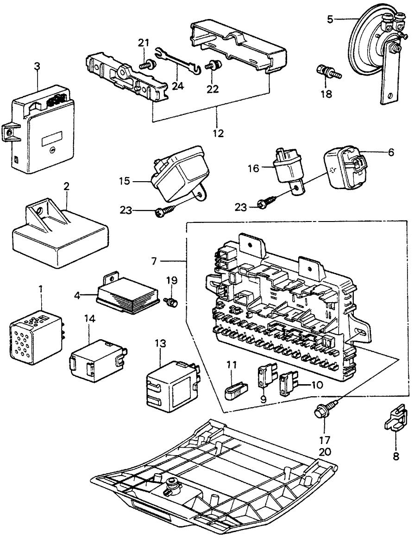 Honda Civic Fuse Box Diagram Together With Honda Civic Fuse Box