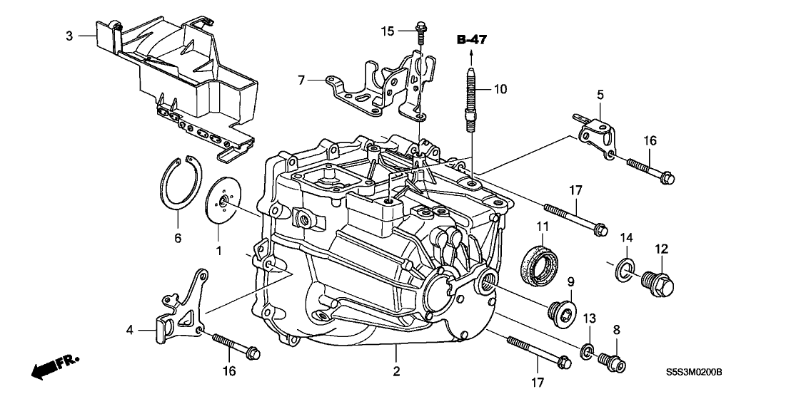 Ex 1 5l Honda Engine Diagram