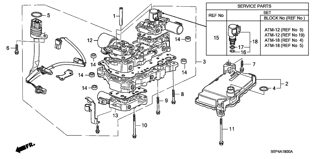 2002 Honda Civic Transmission Diagram