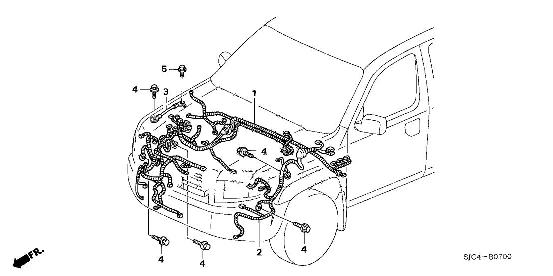Honda Ridgeline Wiring Harness Diagram - Wiring Diagrams on