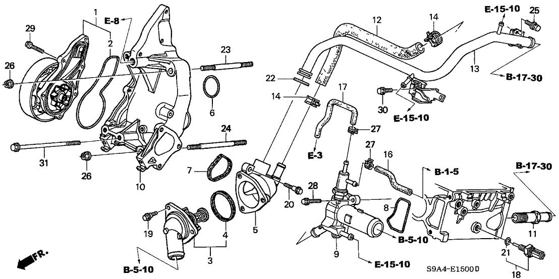2003 Honda Cr V Engine Diagram 3 Phase Ups Wiring Diagram Bege Wiring Diagram